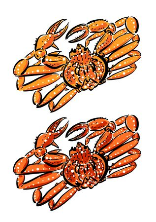 Zwaigani before boiling (top) and after (bottom)