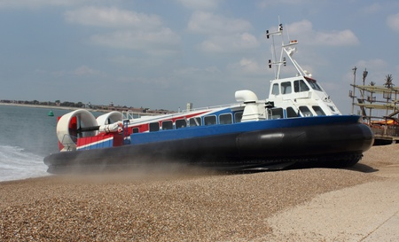 Passenger Hovercraft Stock Photo - 17143660