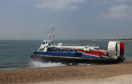 Passenger Hovercraft  Stock Photo - 17143518