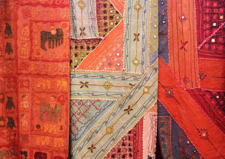 Textiles   fabrics Stock Photo - 17244378