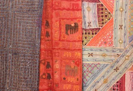Textiles   fabrics Stock Photo - 17244379