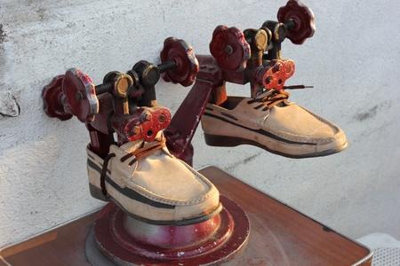 A Turkish cobblers shoe stretcher photo