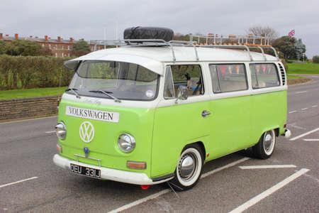 19th november 2012,A restored Retro van in england ,19th november 2012 Editorial