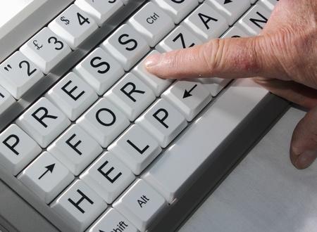 Computer Help Stock Photo - 17548193