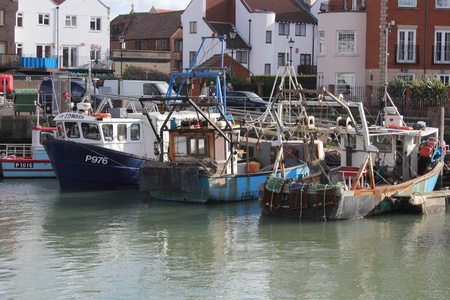 Fishing fleet ,portsmouth 2nd feb 2013