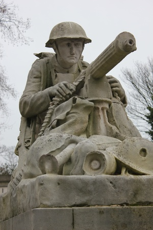 War memorial at victoria park in portsmouth england