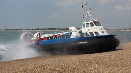 Passenger hovercraft from portsmouth to the isle of wight,2012