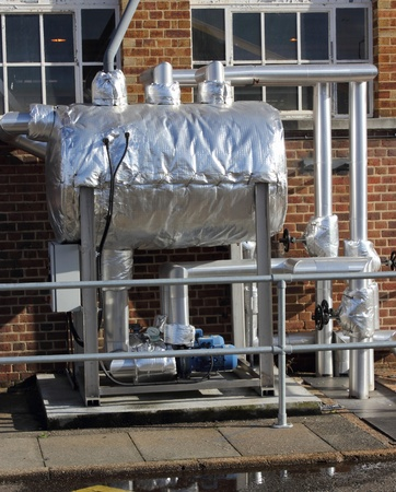 Condensate pumping set Stock Photo - 17733519