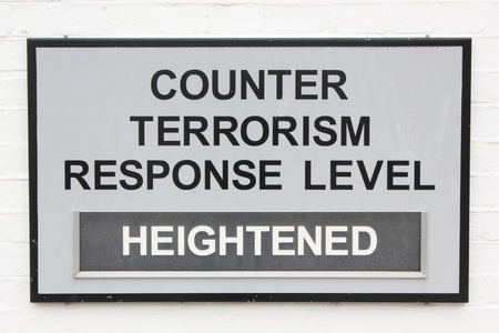 counter terrorism: counter terrorism sign