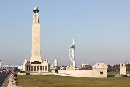 portsmouth: portsmouth memorial & spinnaker tower