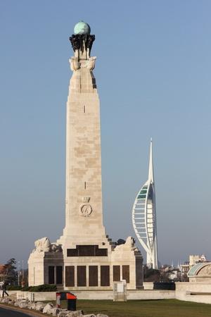 portsmouth memorial & spinnaker tower