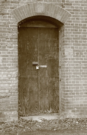 Old doorway photo
