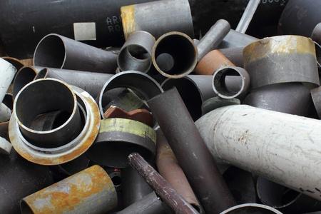 scrap metal: Scrap Metal Archivio Fotografico