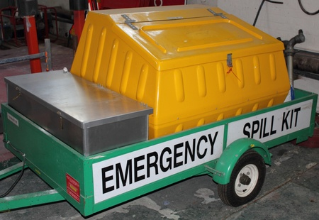 Industrial Emergency spill kit Editorial