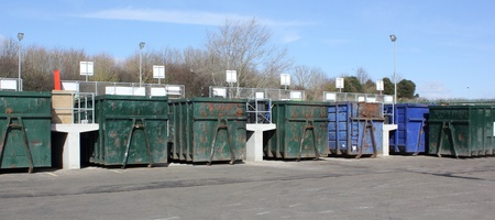 One of the many Industrial plants for recycling of waste