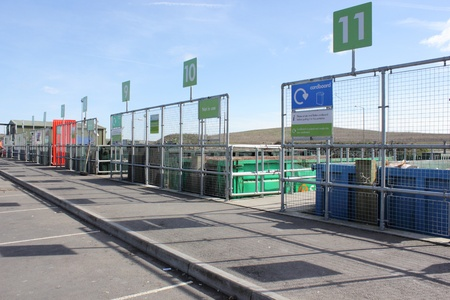 One of the many Industrial plants for recycling of waste Stock Photo - 18412731