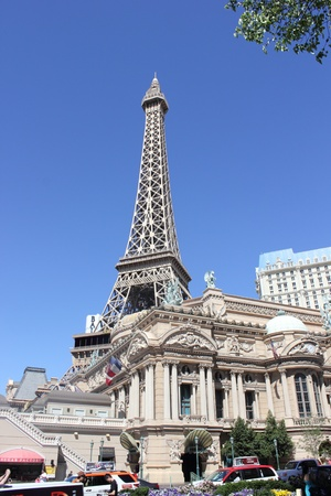 Daytime scenes of the Paris hotel along the  Las Vegas strip, nevada,usa,april 2013 Stock Photo - 19169161