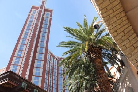 ile au tresor: L'h�tel Treasure island th�me le long du Strip de Las Vegas, Nevada, avril 2013