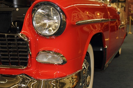 A classic old car in the Automobile museum at Las Vegas, april 2013