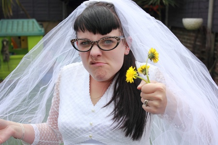jilted: Angry jilted bride