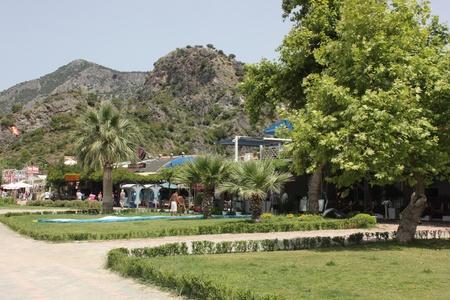 oludeniz: The beautiful and scenic resort of Oludeniz in Turkey, May 2013