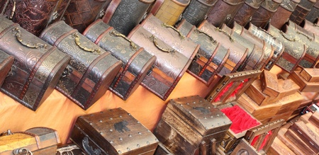box size: Hand made turkish boxes found in a traditional Turkish market