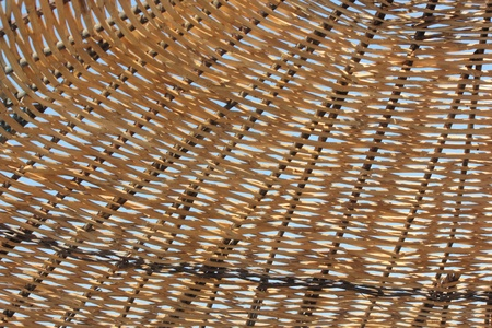 A background of woven straw Stock Photo - 22362047