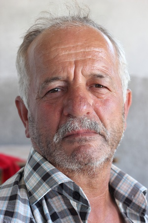 turkish man: A proud looking Turkish man, Turkey 2013 Editorial