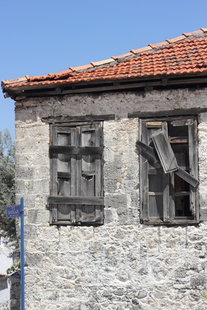 Very old housing at Fethiye in Turkey Stock Photo - 21765619