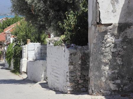 old housing at Fethiye in Turkey Stock Photo - 21765623