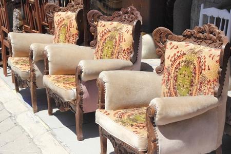 Old furniture Stock Photo - 21764541