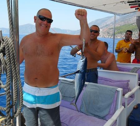 oludeniz: A Tuna fishing trip in Turkey, oludeniz 2013