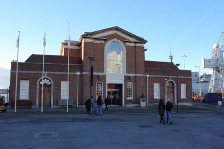 portsmouth: Portsmouth naval history museum in portsmouth dockyard, 2013 Editorial