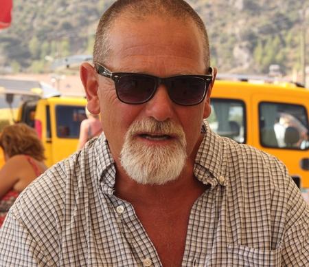 englishman: An englishman with a beard Stock Photo