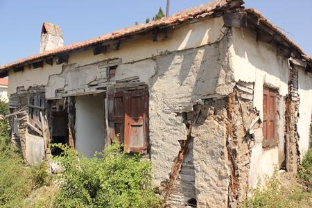 An old building in disrepair, Calis, Turkey 2014