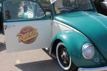 vw: A classic rat style vw beetle, 2015