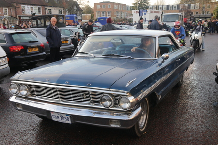 26TH DECEMBER 2016,WICKHAM,HANTS: Old retro classic cars at a show in wickham, england on the 26th december 2016 Editorial
