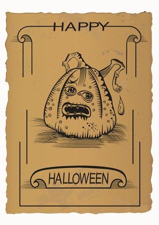 Happy Helloween, Jack O Illustration