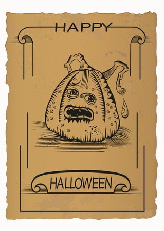 Happy Helloween, Jack O Illustration