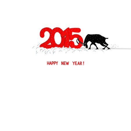 bunt: Year of the Goat Illustration