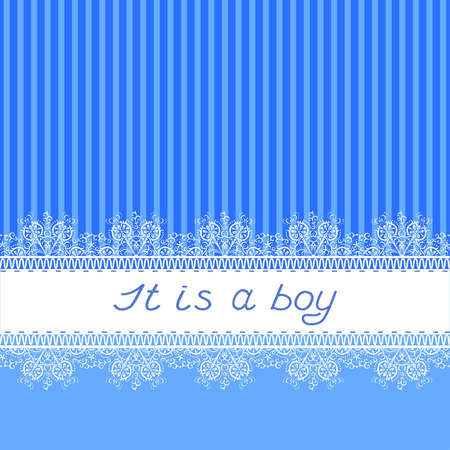 It is a boy Illustration