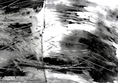 smeared: Testurinovy grunge background with scratches in monochrome