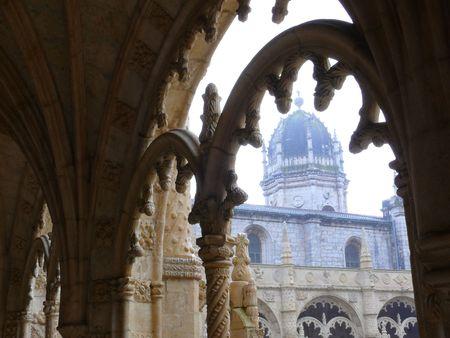 cupola of monastery of Jeronimos in Lisboa