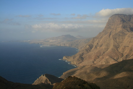 coast of Agaete in Canary Islands