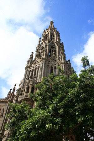 centenarian: campanario de la iglesia de San Juan en Arucas, Gran canaria