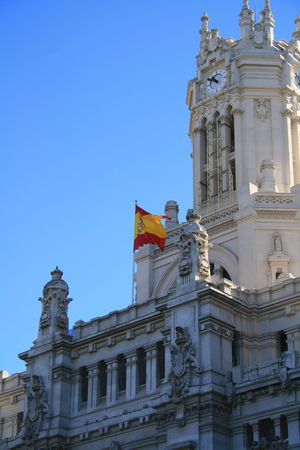 city hall madrid photo