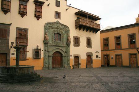 colonial architecture in Las Palmas Stock Photo - 2165995
