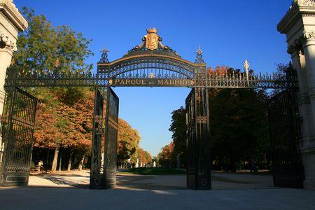 madrid park of el retiro Stock Photo - 2150598