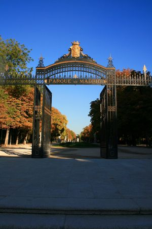 madrid park of el retiro Stock Photo - 2150596