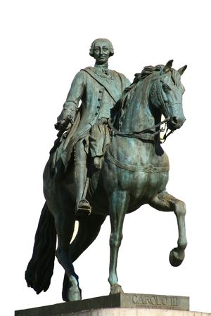 king and first major of Madrid, charles iii